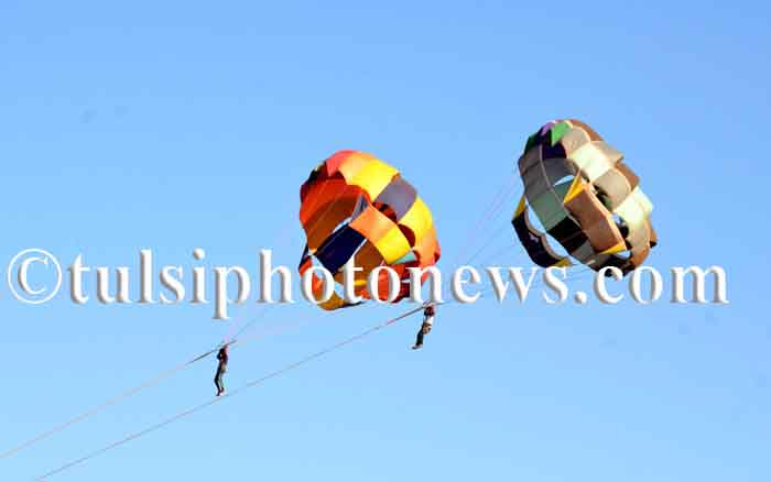 Parasailing in Bhopal 1