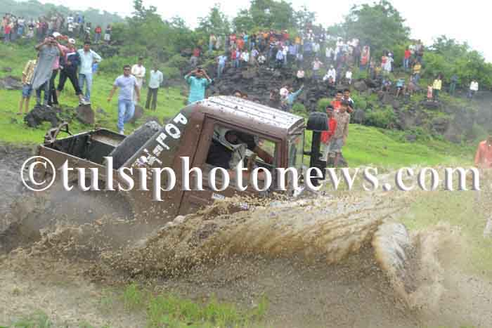 Mud challenge rally in Bhopal 1