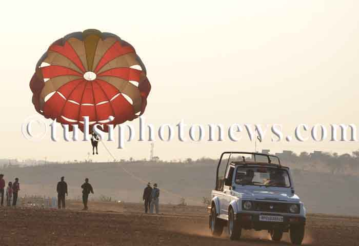 Parasailing in Bhopal