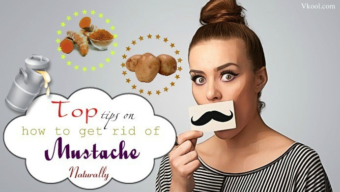 how to get rid of mustache