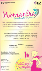 Womantra-Flyer