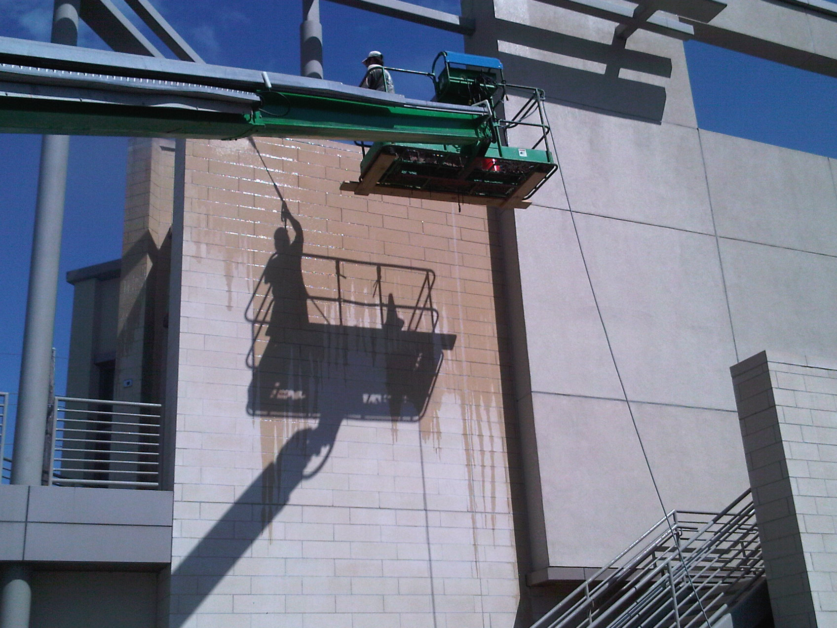 Commercial Power Washing in Savannah