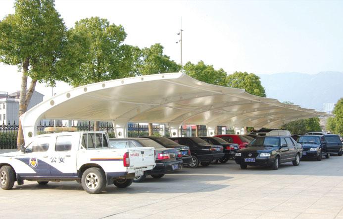 乌鲁木齐膜结构车棚