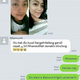 testimoni cream eleora diamond 9