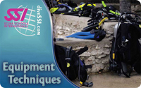 Diving Equipment Techniques SCUBA Class Certification