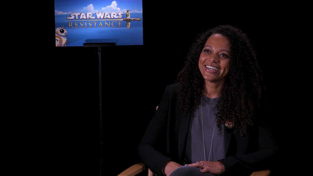 Suzie McGarth talks about her role in Star Wars Resistance.