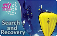 Search and Recovery Scuba Class Certification