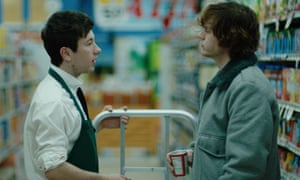 Barry Keoghan (left) has been nominated for his performance in American Animals.