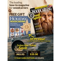 Woodcarving Illustrated 2 Year Subscription USA