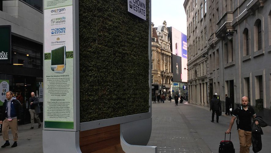 London CityTree in Piccadilly Circus