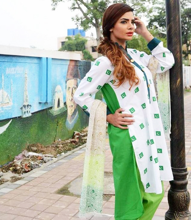 Latest 14 August Dresses For Girls 2018 | Pakistan Independence Day