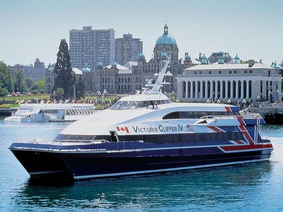 Seattle to Victoria High-Speed Ferry