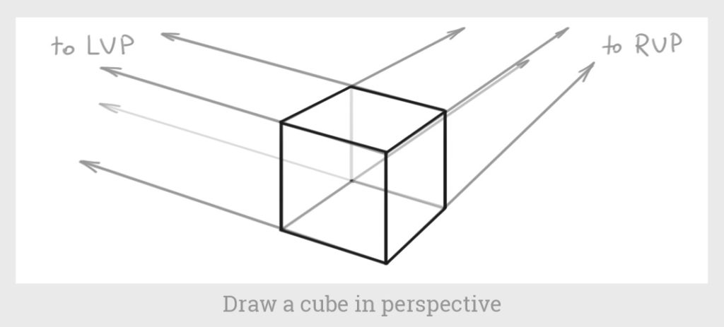 cube in perspective 2