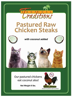 Chicken Steaks for Cats