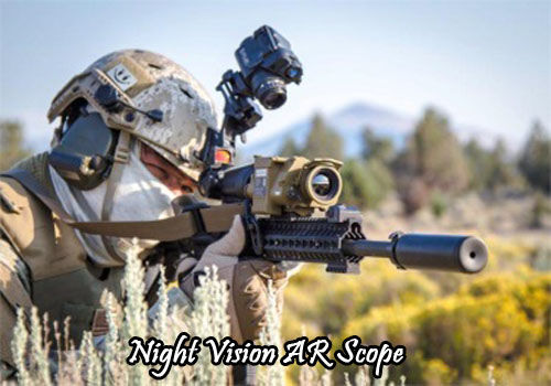night vision AR scope