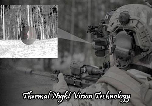 Thermal night vision
