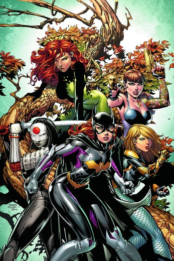 Meet the Birds of Prey and the Gotham City Sirens.