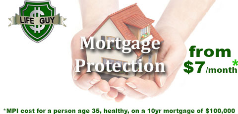 Mortgage protection from $7 per month