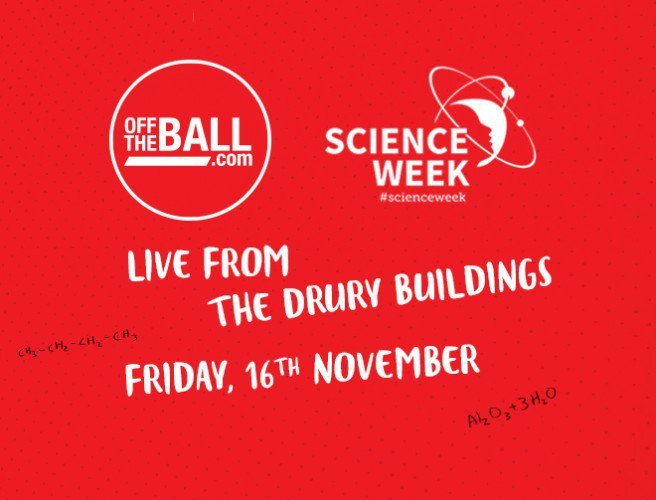 Off The Ball is back on the road again to celebrate Science Week