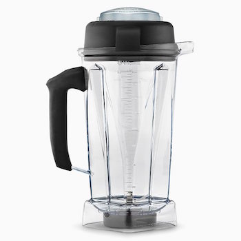 the vitamix 5200 has a large container allowing it to be used for the family