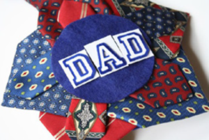 Fathers Day Tie Wreath 4