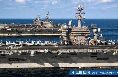 美国航母战力爆表?