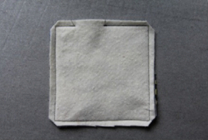 Quick and Easy Fabric Coasters 1