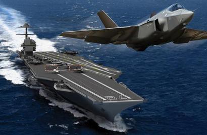 俄披露新航母计划:电磁弹射 垂直起降战机