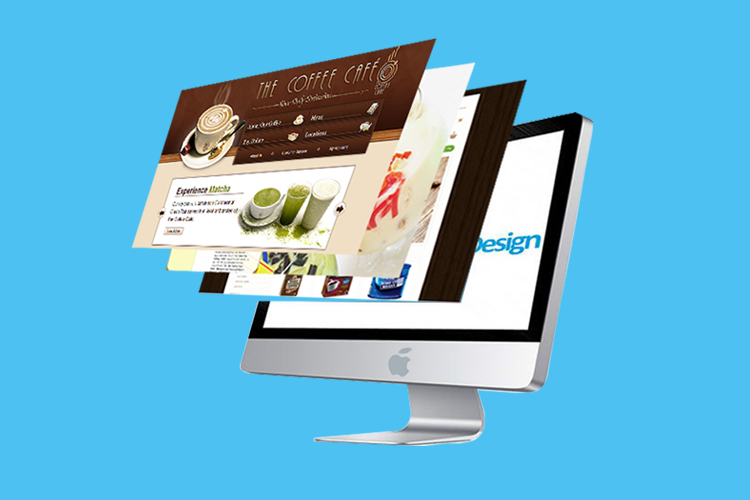 thiết kế website cafe