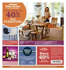 Cost Plus World Market Your Local Ad 11/3 - 11/22 front page