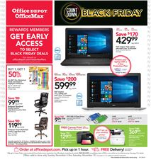 Office Depot 11/4 Weekly Ad front page