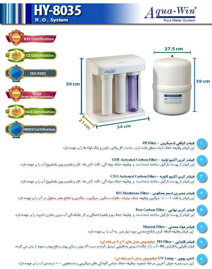 مشخصات HY-8035