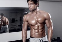 guy with sixpack
