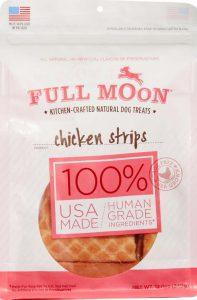 Full moon chicken strips - chicken jerky strip