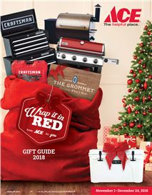 ACE Hardware Holiday Gift Guide - Catalog front page