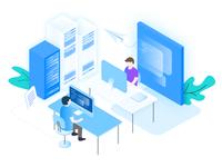 AltoStack – Outsourced DevOps Illustration