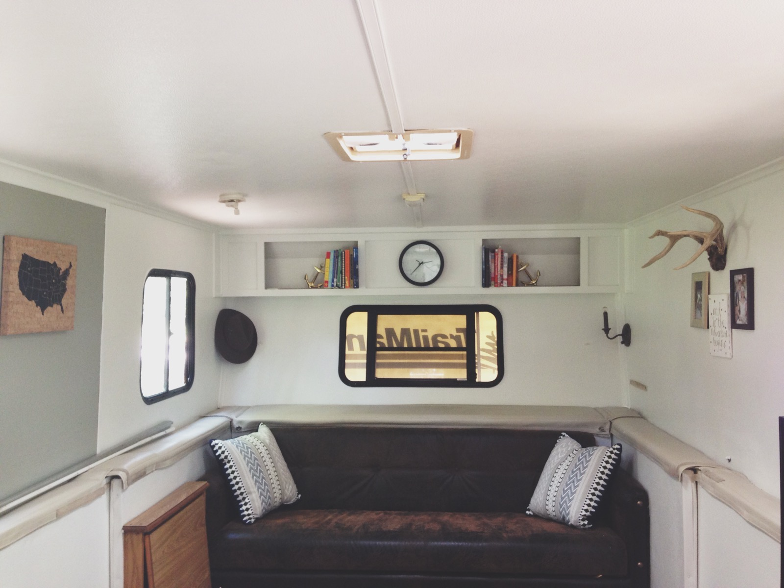 Living in a camper to pay off debt