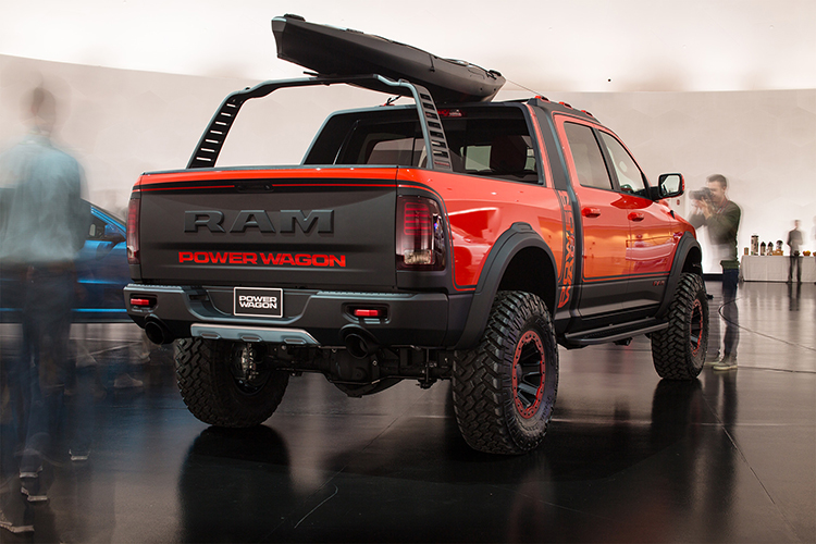 2019 Ram Power Wagon bed