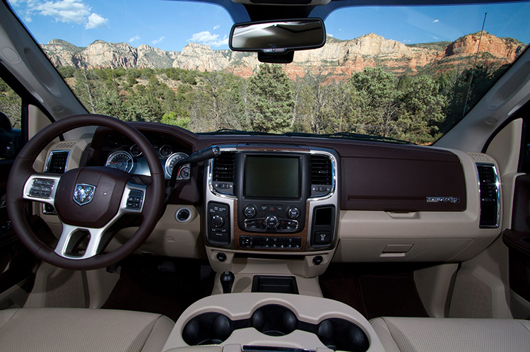 2019 Ram Power Wagon interior