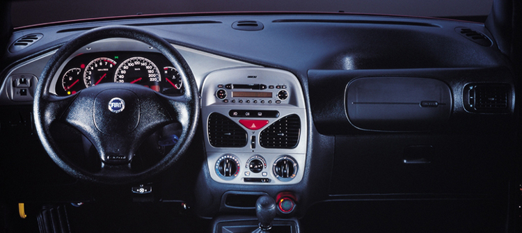 Fiat Siena Fire dashboard