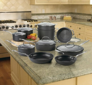 Cuisinart Chefs Classic hard anodized cookware
