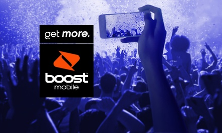 $10 for $30 Value (including up to 7GB data) with Boost Mobile SIM