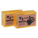 頂級阿里山檜木手工潔顏皂