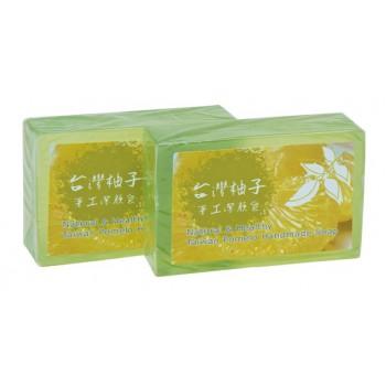頂級台灣柚子手工潔顏皂