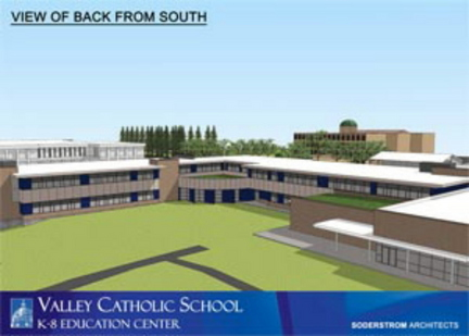 Sisters of St. Mary of Oregon will build new elementary school on Valley Catholic's Beaverton campus