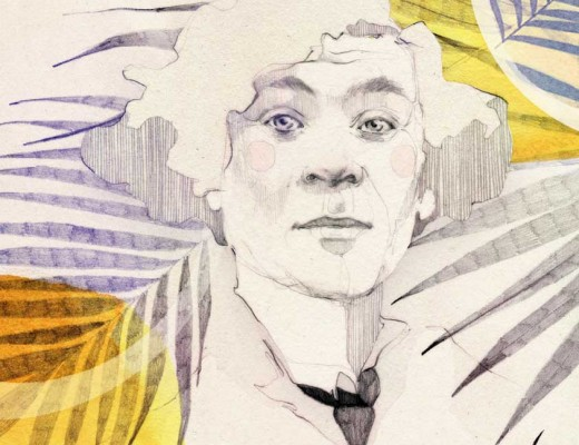An interview with Marc Chagall with Ani Menua; Illustration by Ekaterina Koroleva exclusive for berlinograd.com