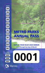Metro Parks and Marine Facilities in Oregon - Annual Parking Pass