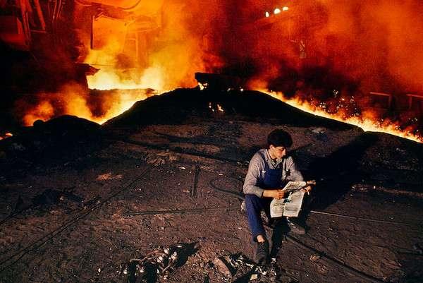 Steeve McCury 书虫的读书境界摄影