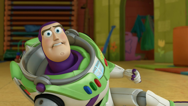 Buzz Lightyear Senses Danger