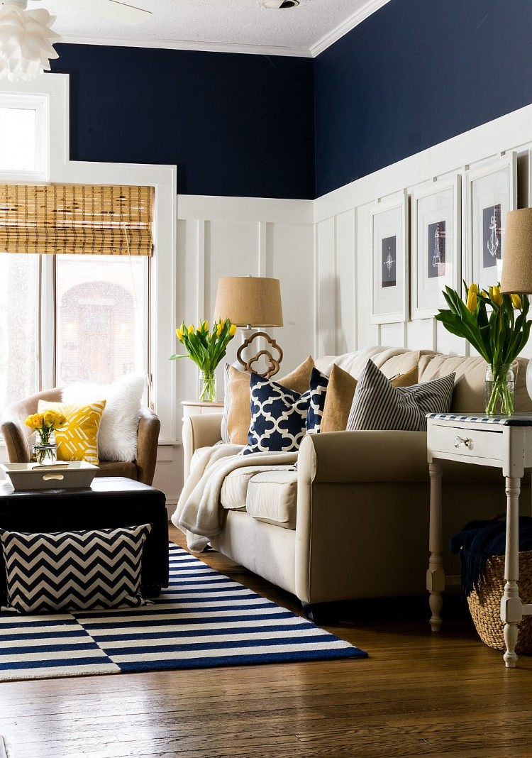 Color Meanings: The Perfect Decor Color that matches your Zodiac Sign - Capricorn is a sign that represents time and responsibility, and its representatives are traditional and often very serious by nature. To portray this strong personality, From the Inside blog suggests you decorate your home in navy blue. It carries a sense of elegance and sophistication,a timeless color that fits in nicely with nautical designs.